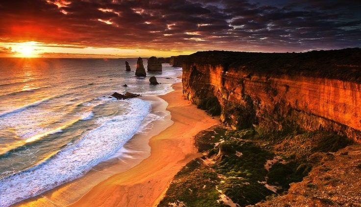 red-sunset-12-apostles