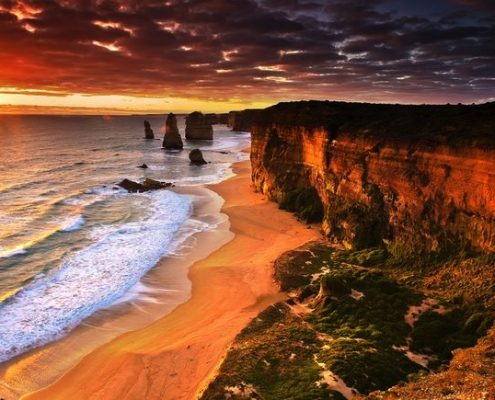 red-sunset-12-apostles
